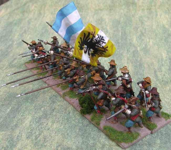25/8mm warlord Games Pikemen and Musketeers