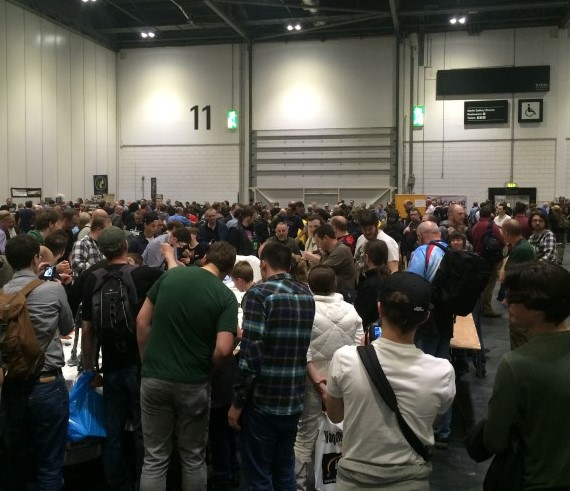 Various Rulesets, Photos of Salute! 2015 Review at ExCeL London April 2015, Multiple Scales