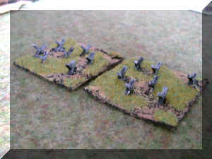 10mm Dragons Teeth for Wargames