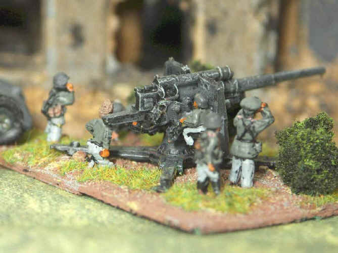 Flames of War German 88 AT Gun
