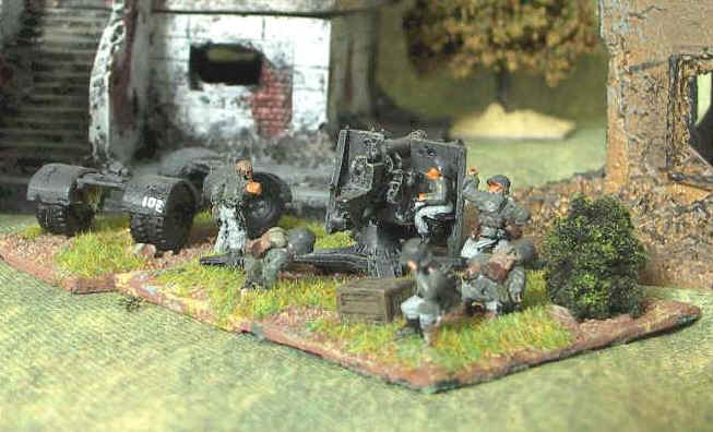 Flames of War German 88 AA Gun