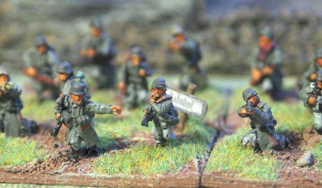 Flames of War German Infantry Platoon