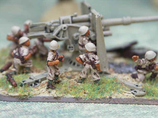 Flames of War Italian Bersaglieri Painted