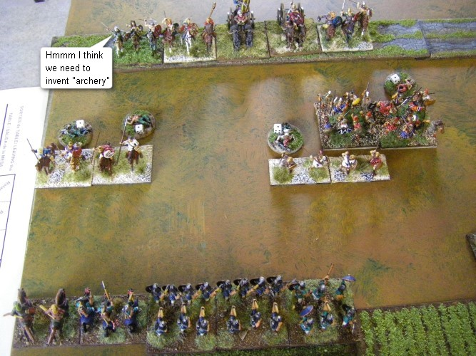 L'Art de la Guerre, Freezing! Armies before 0AD: Sargonid Assyrian vs Galatian, 15mm