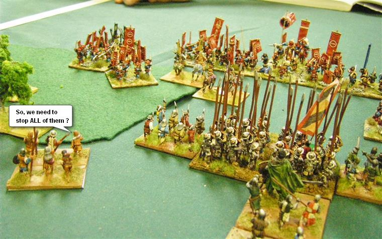 L'Art de la Guerre, Feudal and Dark Ages: Feudal German vs Samurai, 15mm