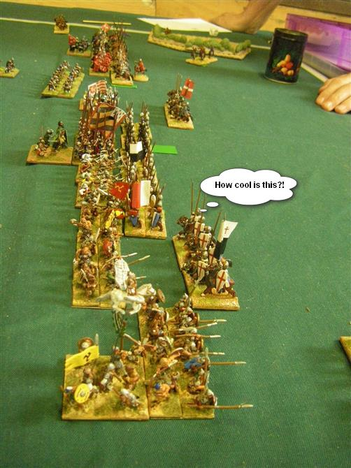 L'Art de la Guerre, Feudal and Dark Ages: Feudal German vs Later Crusader, 15mm