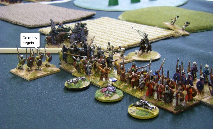 L'Art de la Guerre, Dark Ages: Feudal Spanish vs Tulunid Arab, 15mm