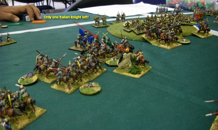 L'Art de la Guerre, Dark Ages: Feudal Spanish vs Communal Italian, 15mm