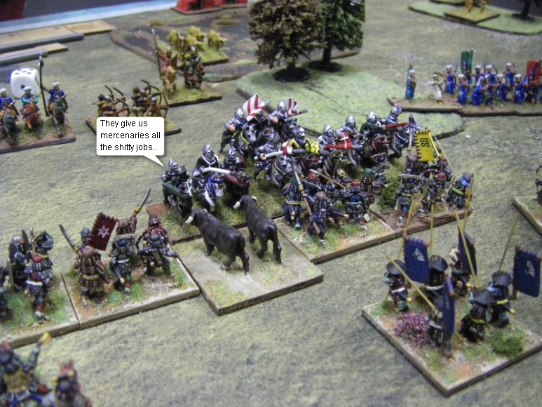 L'Art de la Guerre, Open Theme: Samurai vs Ottomans & Serbs, 15mm