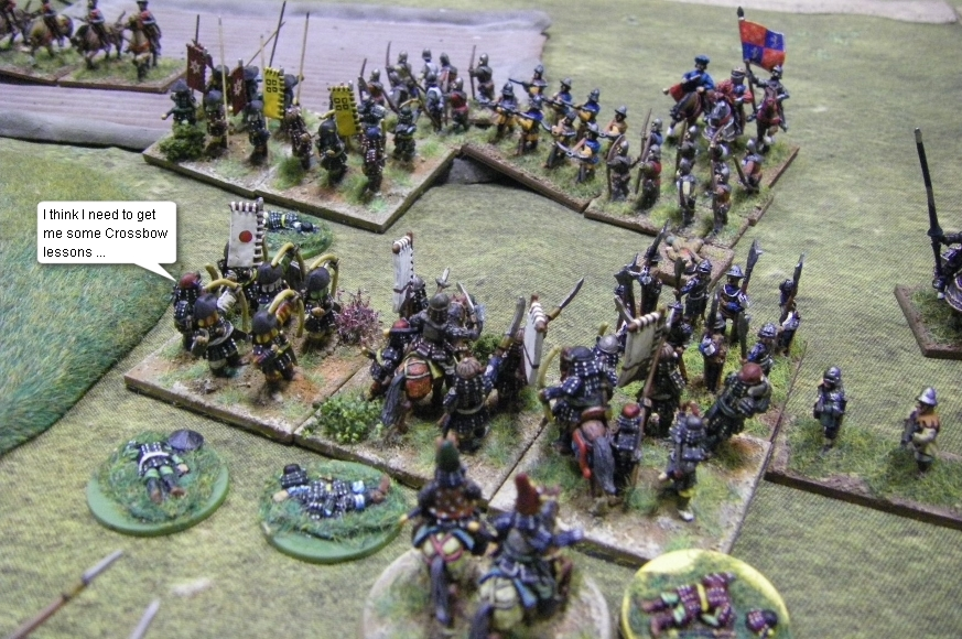 L'Art de la Guerre, Open Theme: Samurai vs French Ordonnance, 15mm