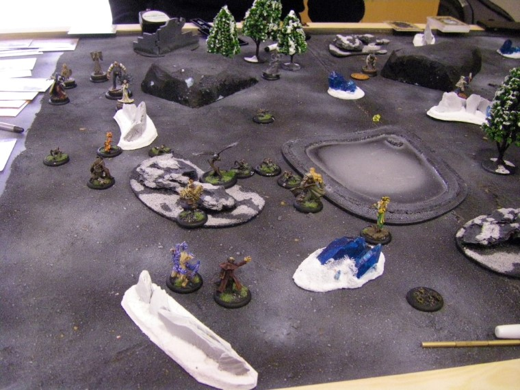 Malifaux, Gothic Steampunk Horror: Arcanists vs Asami (TT), Wyrd Games, 32mm