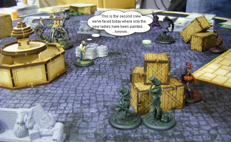 Malifaux, Gothic Steampunk Horror: Arcanists vs Seamus (Rezzer), Wyrd Games, 32mm