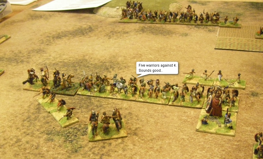 L'Art de la Guerre, Classical & Roman: Galatians vs German, 15mm