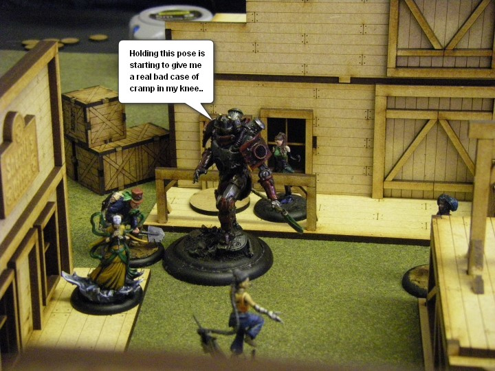 Malifaux, Gertfaux: Mei Feng and the Arcanists at Gertfaux, Gothic Horror Steampunk