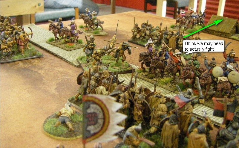 L'Art de la Guerre, Big Abona - The Roman World: Vikings vs Tribal Mongolian, 28mm