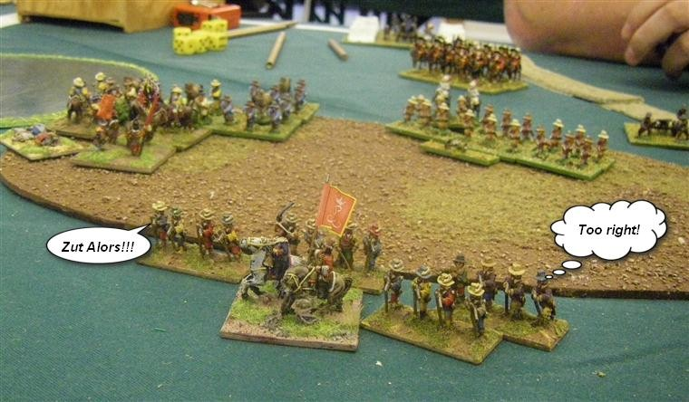 FoG:R Renaissance: Thirty Years' War French, German and Dutch vs Thirty Years' War French, 15mm