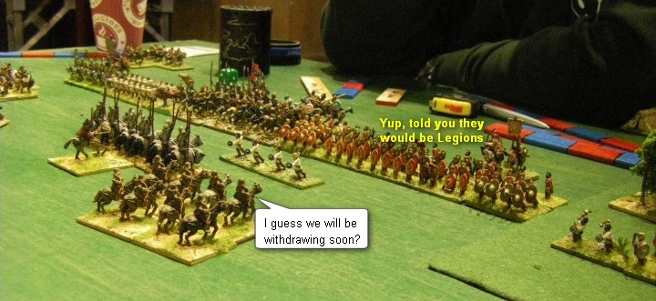 L'Art de la Guerre, Ancients: Triumverate Roman & Jewish vs Armenian & Roman, 15mm