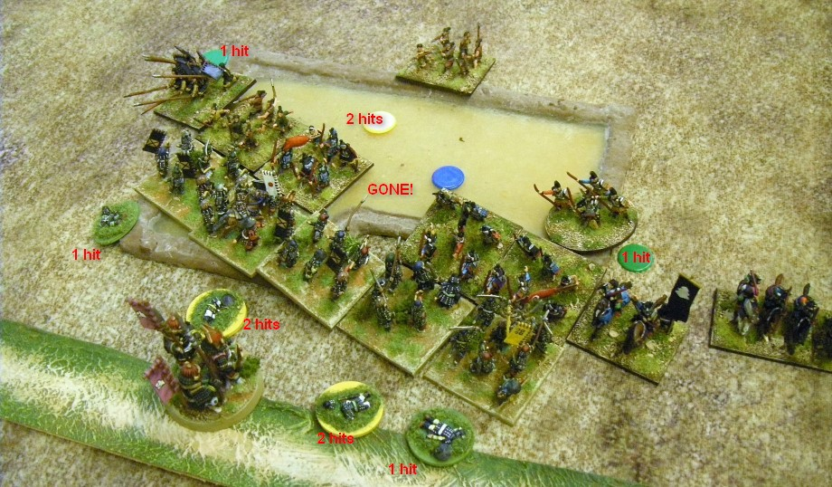 L'Art de la Guerre, Dark Ages: Samurai vs Samurai, 15mm