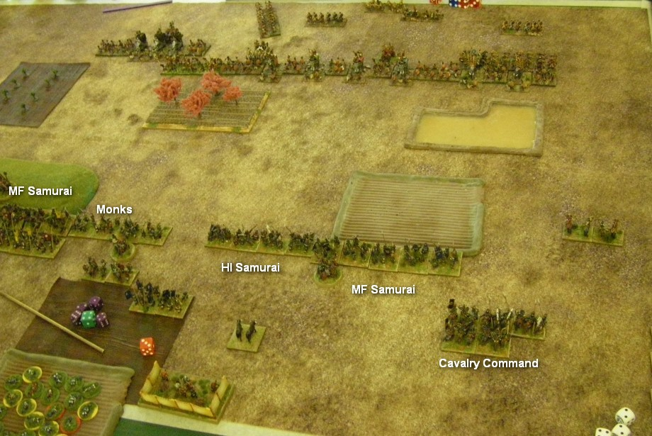 L'Art de la Guerre, Dark Ages: Samurai vs Tamil Indian, 15mm