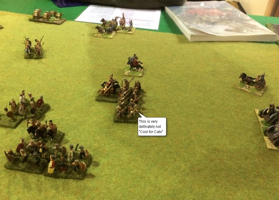 LArt de la Guerre, Roman and Classical Ancient British vs Seleucid, 15mm