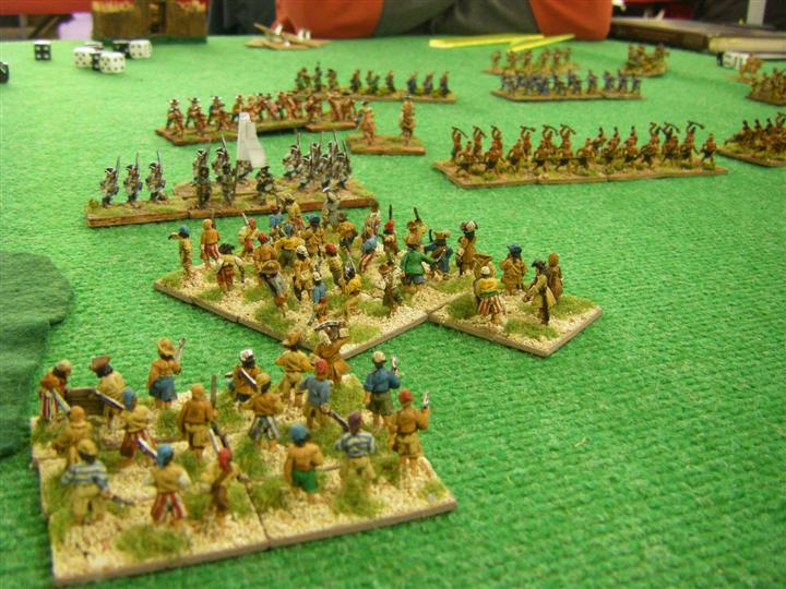 FoG:R Wars in North America & Caribbean 1622-1700: Buccaneer vs Colonial French and Huron, 15mm