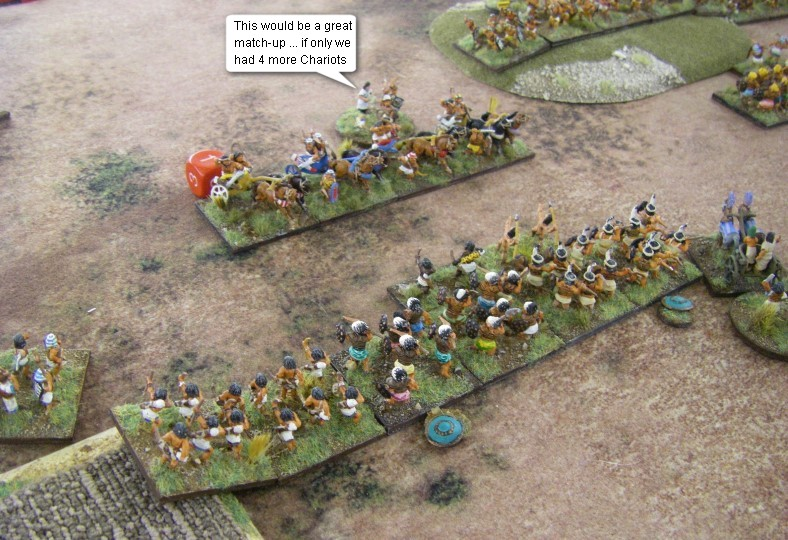 L'Art de la Guerre, Biblical: New Kingdom Egyptian vs New Kingdom Egyptian, 15mm