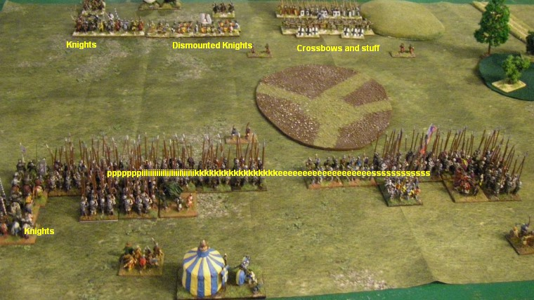 L'Art de la Guerre, Late Medieval: Medieval Scots vs Medieval German, 15mm