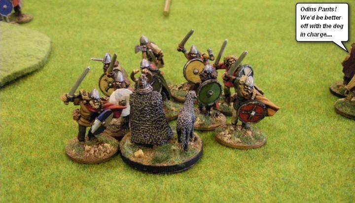 28mm Jomsviking warlord Gripping Beast SAGA