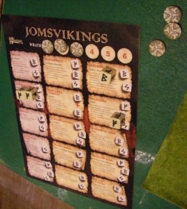 Gripping Beast's SAGA, 1-day Saga Viking battle board