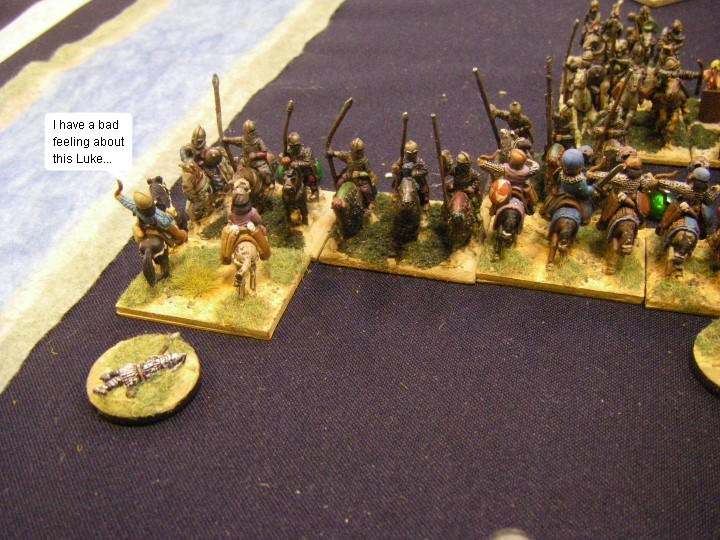 L'Art de la Guerre, Classical & Roman: Sassanid Persian vs Sassanid Persian, 15mm