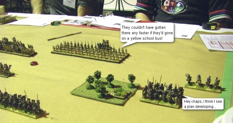 L'Art de la Guerre, Open Theme Doubles: Sassanid Persian vs Classical Indian, 15mm
