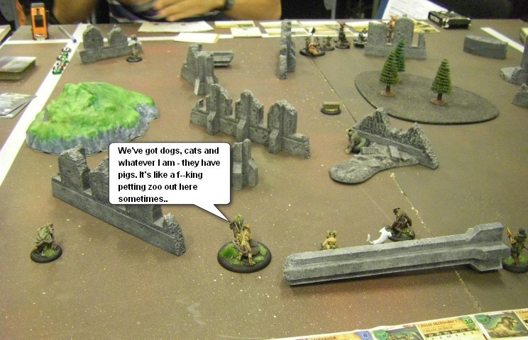 Malifaux, Steampunk Horror: Marcus (Arcanists) vs Mei Feng (Ten Thunders), 32mm