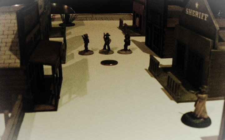 Dead Man's Hand, The Wild West: Lawmen vs Desperados, 25mm-32mm