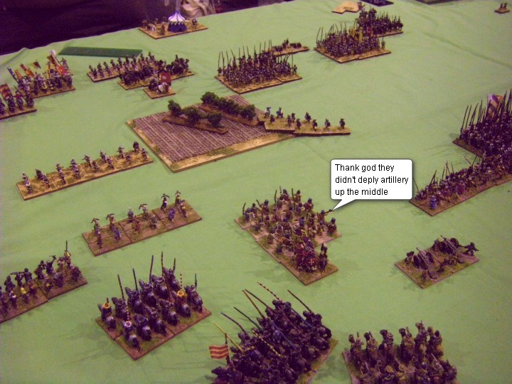 FoGR, Early Renaissance: Kalmar Union vs Maximillian Imperial, 15mm