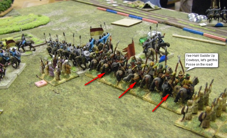 L'Art de la Guerre, Open: Umayyad Arab vs Armenian, 15mm