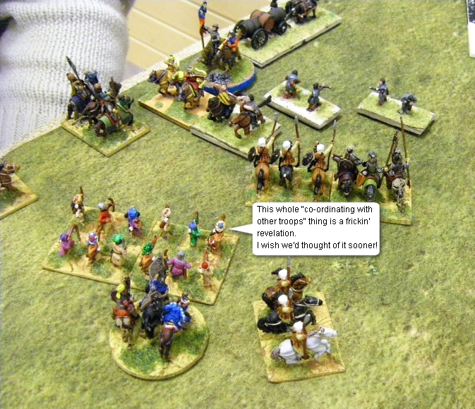 L'Art de la Guerre, Open: Umayyad Arab vs Medieval Polish, 15mm