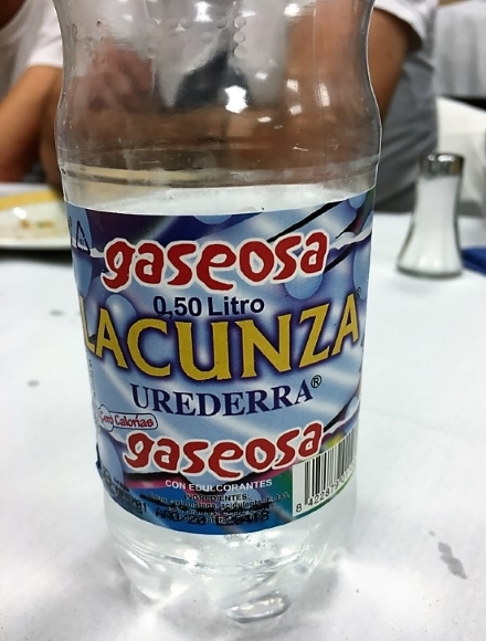 fizzy spanish water