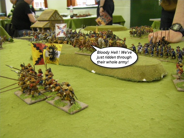FoG Renaissance: Later Imperial Spanish vs ECW Royalist, 28mm