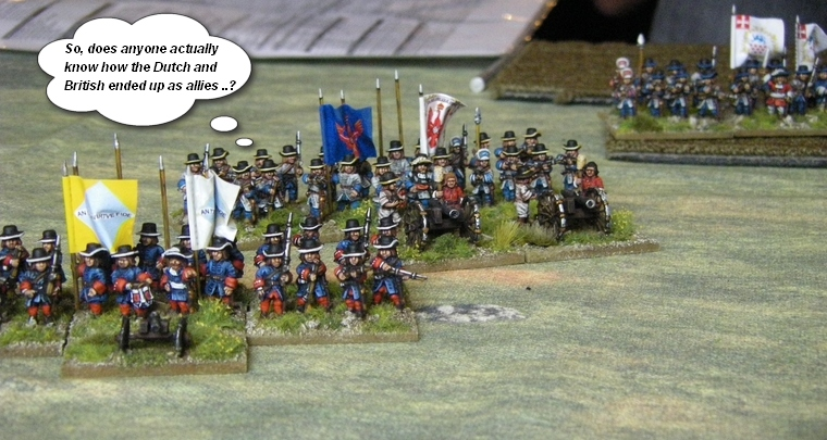 FoGR Age of the Sun King: Later Louis XIV French vs League of Augsburg Anglo-Dutch, 15mm