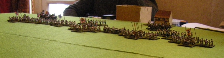 FoGR Age of the Sun King Habsburg Austrian deployment, 15mm
