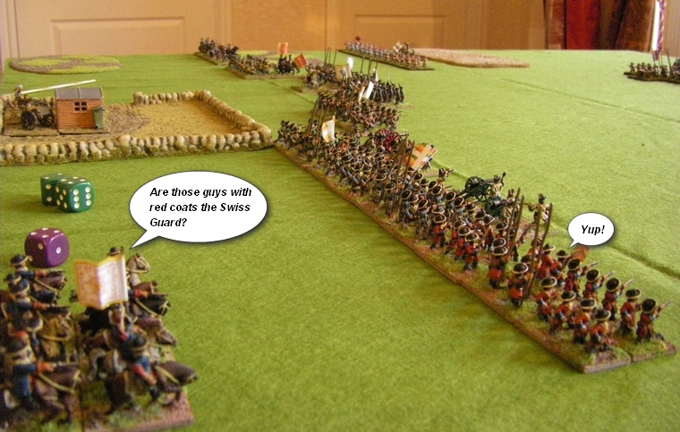 FoGR Age of the Sun King: Later Louis XIV French army lines up for battle, 15mm Essex figures