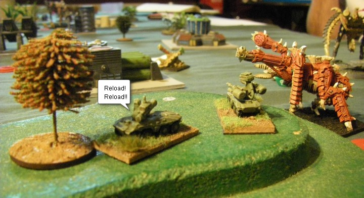 Horizon Wars, Sci Fi: GZG Miniatures vs Original Epic Tyranids, 6mm-15mm