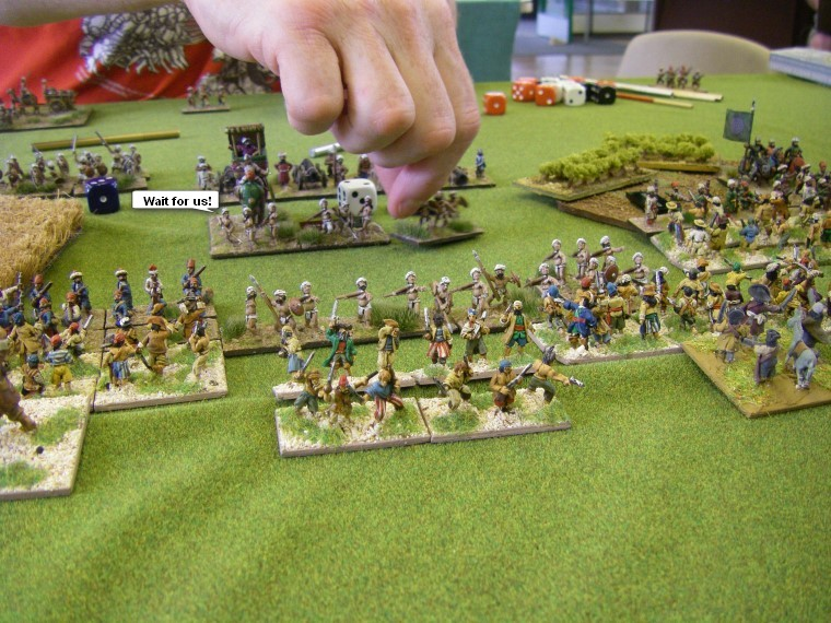 FoGR, Way of The Warriors: Buccaneer vs Mughal, 15mm