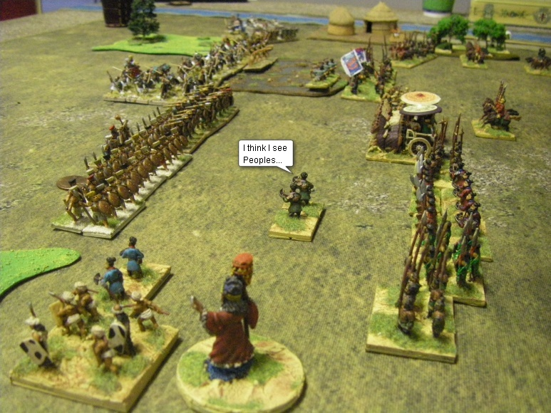 L'Art de la Guerre, Classical & Roman: Han Chinese vs Sea Peoples, 15mm