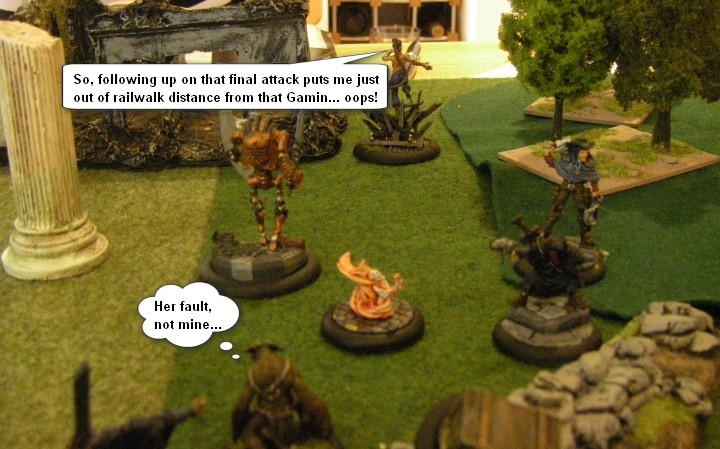 Malifaux, Arcanists vs Guild: Mei Feng Crew vs Sonia Cridd Crew, 32mm