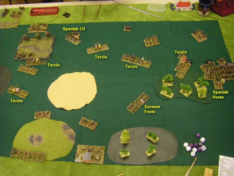 FoG:R Thirty Years War: Later Imperial Spanish vs Transylvanian, 15mm