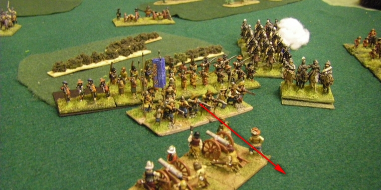 FoG:R Thirty Years War: Later Imperial Spanish vs Early TYW Swedish, 15mm