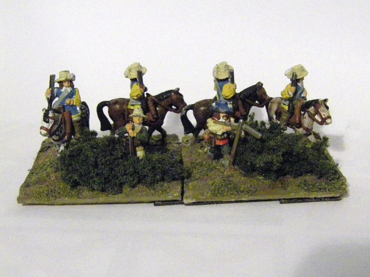 TYW FoG:R : Minifiigs Dragoons - Later Imperial Spanish, 15mm