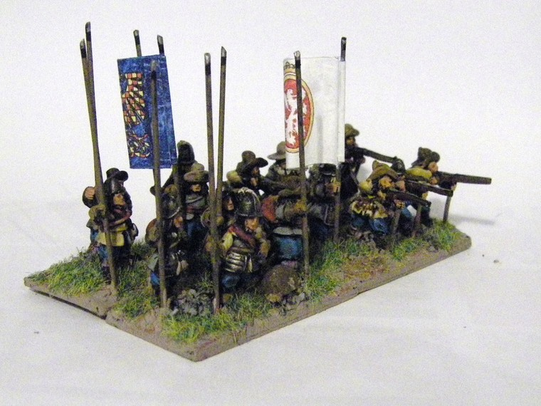 TYW FoG:R : Matchlock Miniatures Later Imperial Spanish, 15mm