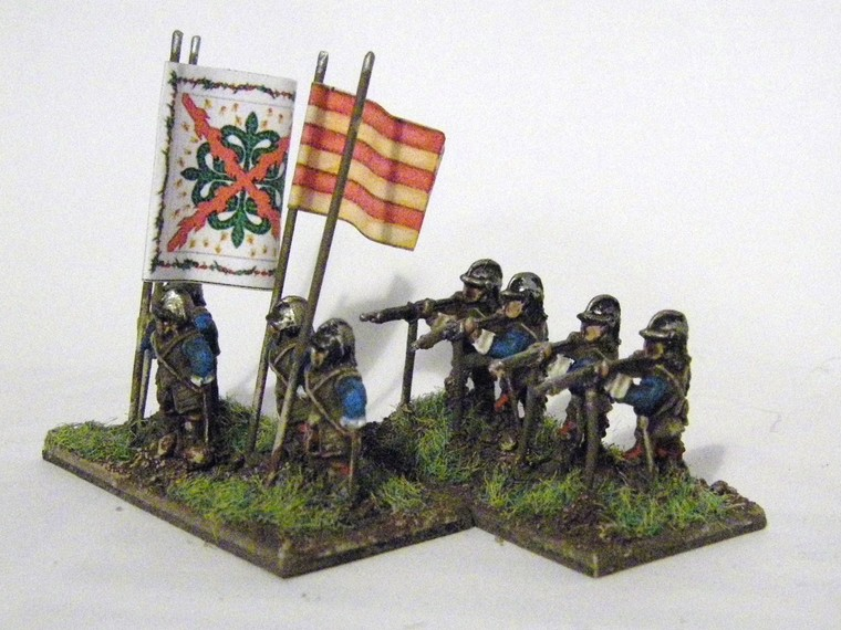 TYW FoG:R : QRF Freikorps Pike and Shotte Later Imperial Spanish, 15mm
